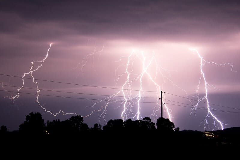 Transientbeskyttelse lyn Maribo, Nykøbing F og Holeby